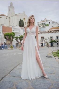 Abendkleid AL41739G-geschlitzt-